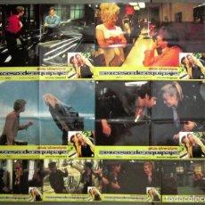 Cine: YQ72 EXCESO DE EQUIPAJE ALICIA SILVERSTONE SET COMPLETO 8 FOTOCROMOS ORIGINAL ESTRENO. Lote 122462999
