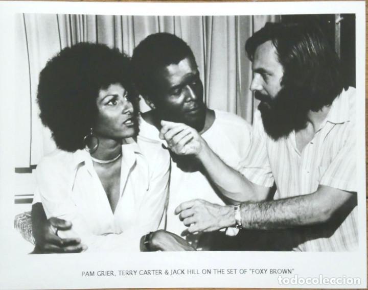 FOXY BROWN PROMO FOTOGRAFÍA - PAM GRIER, JACK HILL, TERRY CARTER - BLAXPLOITATION (Cine - Fotos y Postales de Actores y Actrices)
