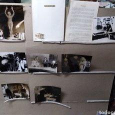 Cine: MILAN CALIBRE 9 BARBARA BOUCHET GIALLO DOSSIER MÁS FOTOGRAFÍAS ESTRENO. Lote 122841784