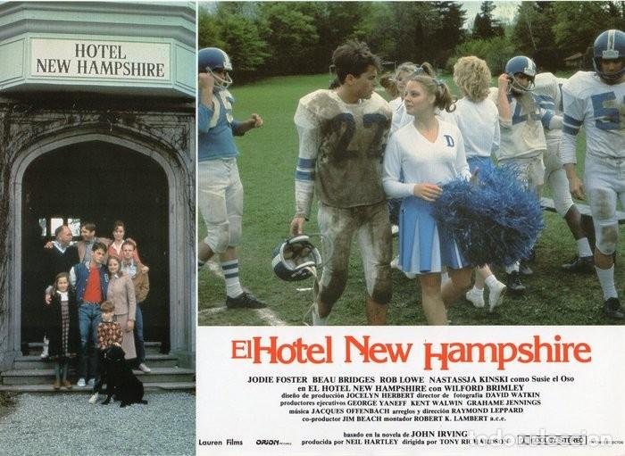 Cine: HOTEL NEW HAMPSHIRE. CARTELERA DE 12 FOTOCROMOS - Foto 4 - 122976595