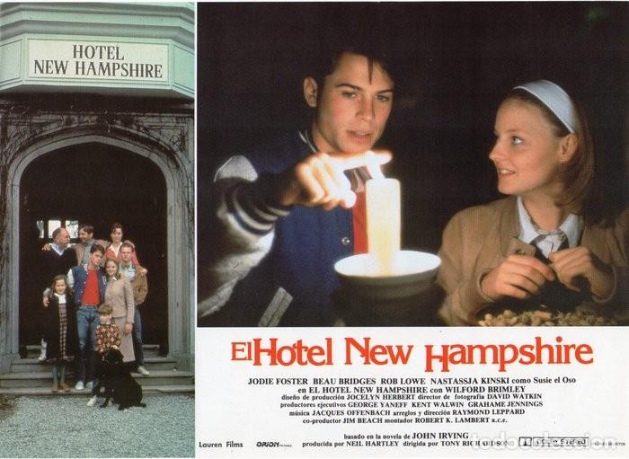 Cine: HOTEL NEW HAMPSHIRE. CARTELERA DE 12 FOTOCROMOS - Foto 8 - 122976595