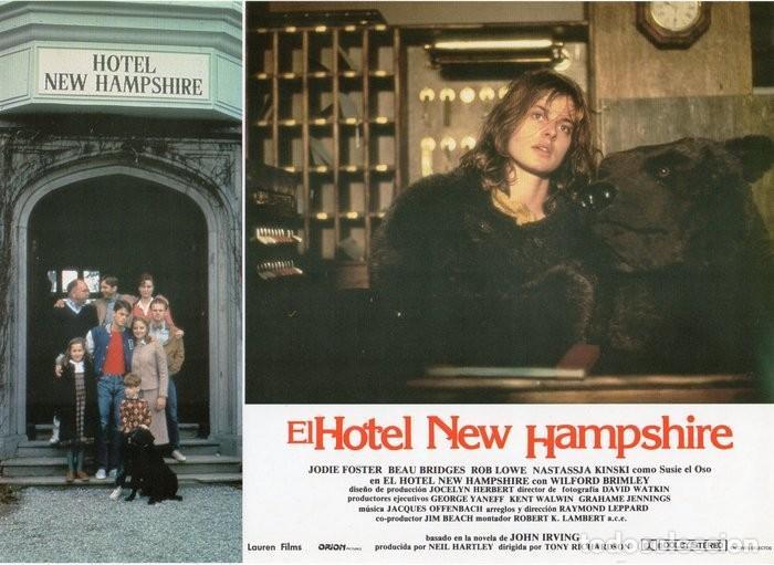 Cine: HOTEL NEW HAMPSHIRE. CARTELERA DE 12 FOTOCROMOS - Foto 11 - 122976595