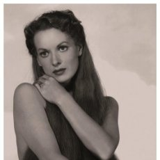 Cine: SEXY MAUREEN O'HARA ACTRESS PIN UP PHOTO POSTCARD - PUBLISHER RWP 2003 (01). Lote 199750155