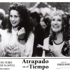 Cine: ATRAPADO EN EL TIEMPO. 2 FOTOCROMOS. Lote 124363503