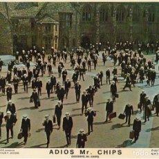 Cine: ADIOS MR CHIPS. AÑO 1969.CARTELERA DE 3 FOTOCROMOS. Lote 124367487