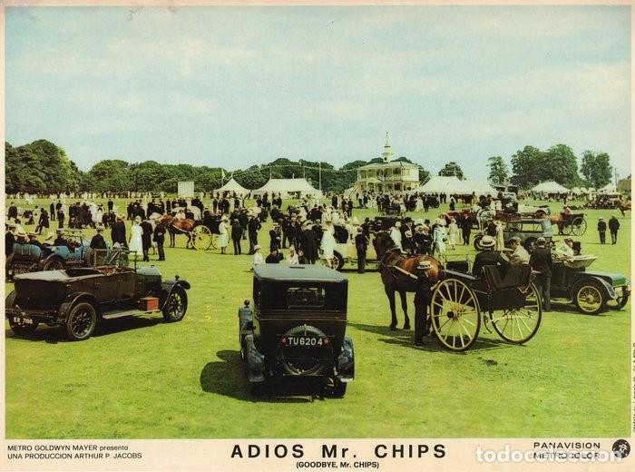 Cine: ADIOS MR CHIPS. AÑO 1969.CARTELERA DE 3 FOTOCROMOS - Foto 3 - 124367487