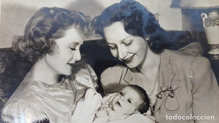 Cine: FOTOGRAFIA DE FAMILIA DE LA ACTRIZ NORTE AMERICANA BILLIE BURKE. CIRCA 1950. - Foto 4 - 148185806