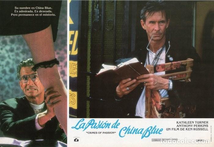 Cine: LA PASIÓN DE CHINA BLUE. 12 FOTOCROMOS. CARTELERA - Foto 2 - 124882583