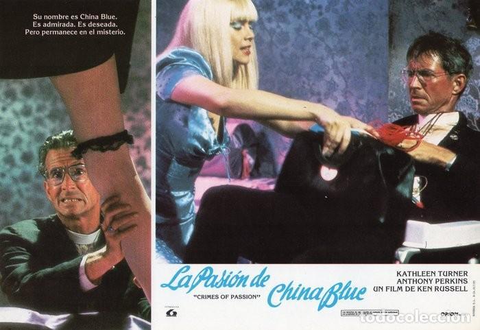 Cine: LA PASIÓN DE CHINA BLUE. 12 FOTOCROMOS. CARTELERA - Foto 4 - 124882583