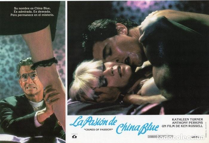 Cine: LA PASIÓN DE CHINA BLUE. 12 FOTOCROMOS. CARTELERA - Foto 6 - 124882583