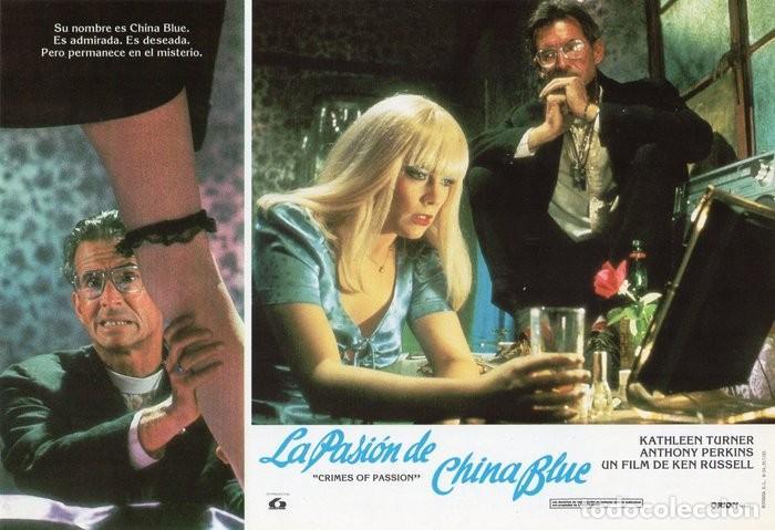 Cine: LA PASIÓN DE CHINA BLUE. 12 FOTOCROMOS. CARTELERA - Foto 7 - 124882583