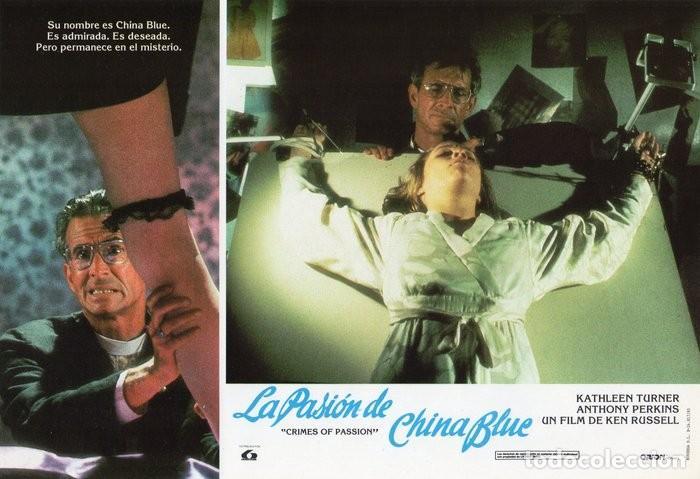 Cine: LA PASIÓN DE CHINA BLUE. 12 FOTOCROMOS. CARTELERA - Foto 8 - 124882583