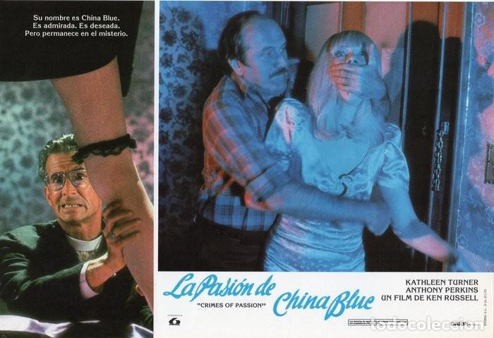 Cine: LA PASIÓN DE CHINA BLUE. 12 FOTOCROMOS. CARTELERA - Foto 9 - 124882583