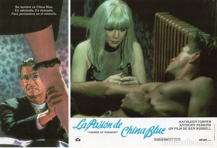 Cine: LA PASIÓN DE CHINA BLUE. 12 FOTOCROMOS. CARTELERA - Foto 11 - 124882583