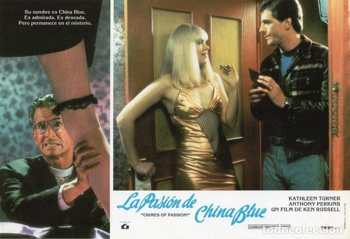 Cine: LA PASIÓN DE CHINA BLUE. 12 FOTOCROMOS. CARTELERA - Foto 12 - 124882583
