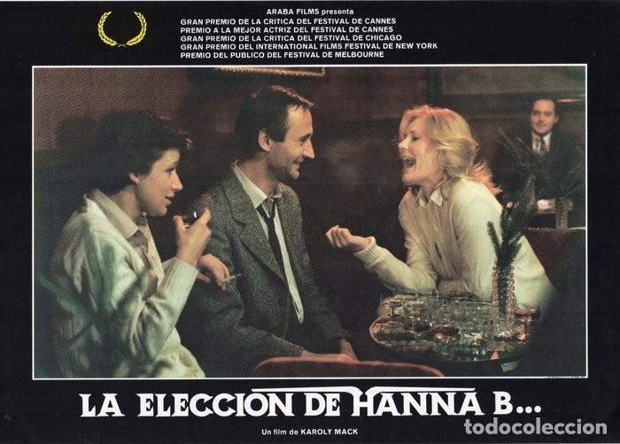 Cine: LA ELECCIÓN DE HANNA B. 8 FOTOCROMOS ORIGINAL - Foto 2 - 124885991