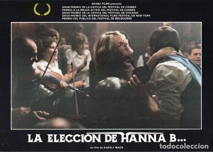 Cine: LA ELECCIÓN DE HANNA B. 8 FOTOCROMOS ORIGINAL - Foto 4 - 124885991