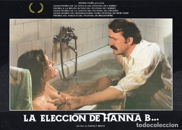 Cine: LA ELECCIÓN DE HANNA B. 8 FOTOCROMOS ORIGINAL - Foto 5 - 124885991