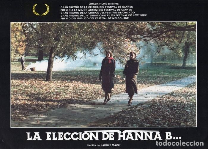 Cine: LA ELECCIÓN DE HANNA B. 8 FOTOCROMOS ORIGINAL - Foto 6 - 124885991