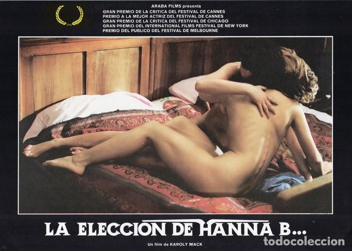 Cine: LA ELECCIÓN DE HANNA B. 8 FOTOCROMOS ORIGINAL - Foto 7 - 124885991
