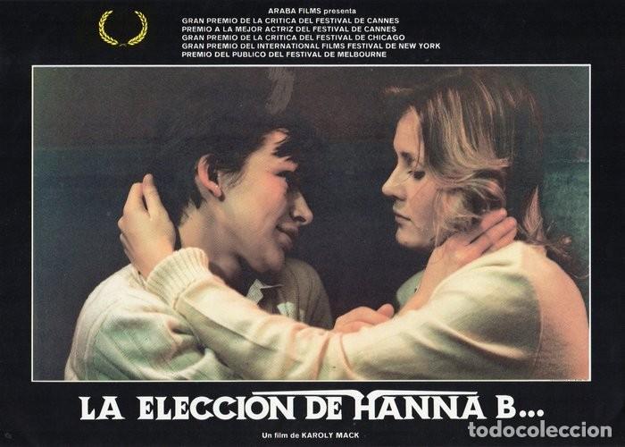 Cine: LA ELECCIÓN DE HANNA B. 8 FOTOCROMOS ORIGINAL - Foto 8 - 124885991