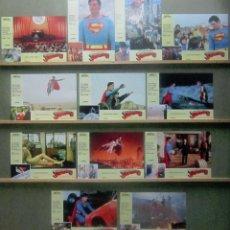 Cine: YR60 SUPERMAN 4 CHRISTOPHER REEVE MARIEL HEMINGWAY SET COMPLETO 12 FOTOCROMOS ORIGINAL ESTRENO. Lote 235646540