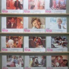 Cine: YR68 LA CHICA DE ROSA MOLLY RINGWALD SET COMPLETO DE 12 FOTOCROMOS ORIGINAL DE ESTRENO. Lote 125059467
