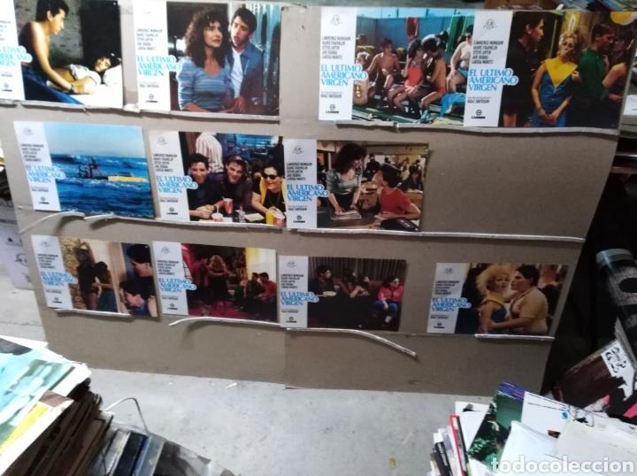 EL ULTIMO AMERICANO VIRGEN 11 FOTOCROMOS ORIGINALES B2 (943) (Cine - Fotos, Fotocromos y Postales de Películas)