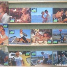 Cine: YR76 MAD LOVE DREW BARRYMORE CHRIS O'DONNELL SET COMPLETO 12 FOTOCROMOS ORIGINAL ALEMAN. Lote 125072799