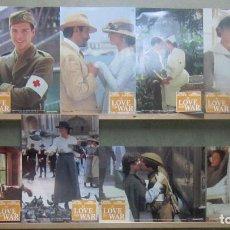 Cine: YS38 EN EL AMOR Y EN LA GUERRA SANDRA BULLOCK CHRIS O'DONELL SET 8 FOTOCROMOS ORIGINAL ALEMAN. Lote 125383483