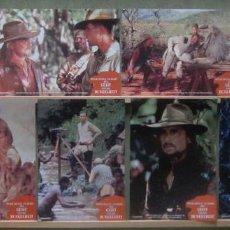 Cine: YS39 LOS DEMONIOS DE LA NOCHE MICHAEL DOUGLAS VAL KILMER SET COMPLETO 8 FOTOCROMOS ORIGINAL ALEMAN. Lote 125383987
