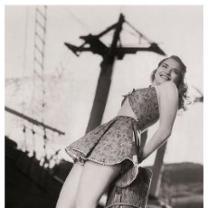 Cine: SEXY JEAN TRENT ACTRESS PIN UP PHOTO POSTCARD - PUBLISHER RWP 2003 (01). Lote 125516627