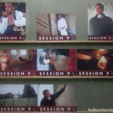 Cine: YS73 SESION 9 DAVID CARUSO TERROR SET COMPLETO 8 FOTOCROMOS ORIG ESTRENO. Lote 125830819