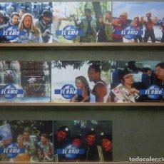 Cine: YS78 EL RAID JOSIANE BALASKO SET COMPLETO 8 FOTOCROMOS ORIGINAL ESTRENO. Lote 125832263