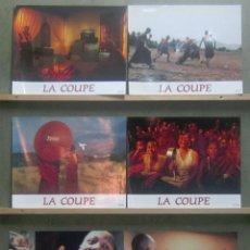 Cine: YT00 LA COPA FUTBOL SET COMPLETO 8 FOTOCROMOS ORIGINAL FRANCES. Lote 125846327