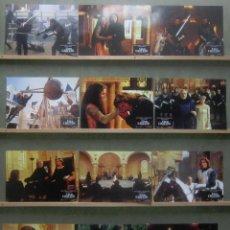 Cine: YT14 EL PRIMER CABALLERO RICHARD GERE SEAN CONNERY JULIA ORMOND SET 12 FOTOCROMOS ORIGINAL ALEMAN. Lote 125950559