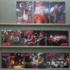 Cine: YT20 TURBULENCE RAY LIOTTA LAUREN HOLLY SET 12 FOTOCROMOS ORIGINAL ALEMAN. Lote 125953831