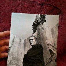 Cinema: FOTO-PROMO.PROMOCIONAL B/N ..25 X 19 -HORROR OF DRACULA 1958 ... CHRISTOPHER LEE --TERROR. Lote 126301511