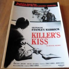 Cine: TARJETA DE PELÍCULAS - KILLER'S KISS - YO AMO EL CINE. Lote 210198425