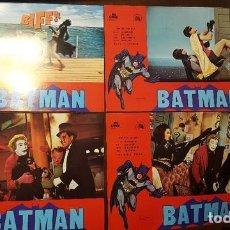 Cine: BATMAN - COLECCION DE 12 FOTOCROMOS - EN BUEN ESTADO - 33.5 X 24 CM - ORIGINAL DE 1979. Lote 126683127
