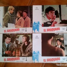 Cine: LOTE DE FOTOCROMOS DE LA PELICULA ELGRADUADO. Lote 126742987