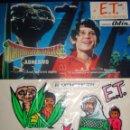 Cine: E.T. EL EXTRATERRESTRE CROMOS TROQUELADOS TRIDIMENSIONALES ADHESIVOS PELICULA ODÍN JUEGOS. Lote 146890422