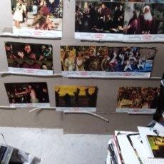 Cine: LA LOCA HISTORIA DEL MUNDO MEL BROOKS 9 FOTOCROMOS ORIGINALES B2 (963). Lote 127818823