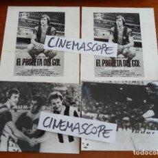 Cine: JOHAN CRUYFF EL PROFETA DEL GOL LOTE 4 FOTOS ORIIGINALES ESTRENO FUTBOL. Lote 127853667