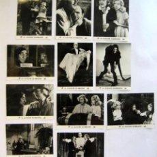 Cine: EL JOVENCITO FRANKENSTEIN (1974) IN CINE/FOX. LOTE DE 11 FOTOCROMOS ORIGINALES B/N.18X24 CMS.. Lote 128589923
