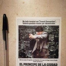 Cine: FICHA COLECCIONABLE -10*15- EL PRINCIPE DE LA CIUDAD - ALBUM - SIDNEY LUMET - MAFIA. Lote 128679843