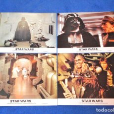 Cine: STAR WARS (EPISODIO IV) - FOTOCROMOS / LOBBY CARDS (COLECCIÓN COMPLETA) - EXCELENTE ESTADO!. Lote 128758739
