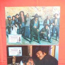 Cine: DALLAS, 2 FOTOCROMOS, FERNANDO SANCHO GILLIAN HILLS. Lote 132493950