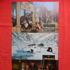 Cine: LA LLAMADA DEL LOBO, 5 FOTOCROMOS, JACK PALANCE JOAN COLLINS. Lote 132496742