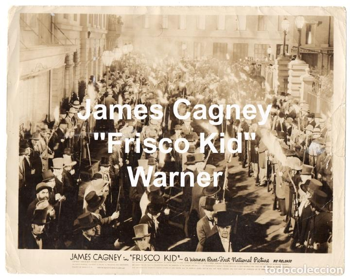 FRISCO KID. 1935. WARNER. RODAJE HOLLYWOOD. JAMES CAGNEY. (Cine - Fotos, Fotocromos y Postales de Películas)